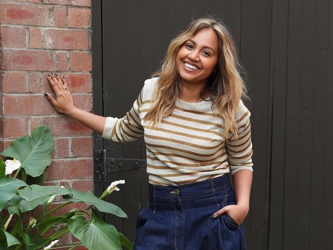 Jessica Mauboy has six ARIA Awards nominations. Picture: Brett Costello