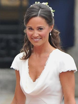 Pippa became an overnight star after serving as Kate's maid of honour at the 2011 royal wedding. Picture: Pascal Le Segretain/Getty Images
