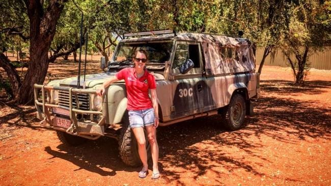 The young traveller said she was held in detention for close to two days. Picture: Facebook/Chloe Phillips-Harris: Adventurer