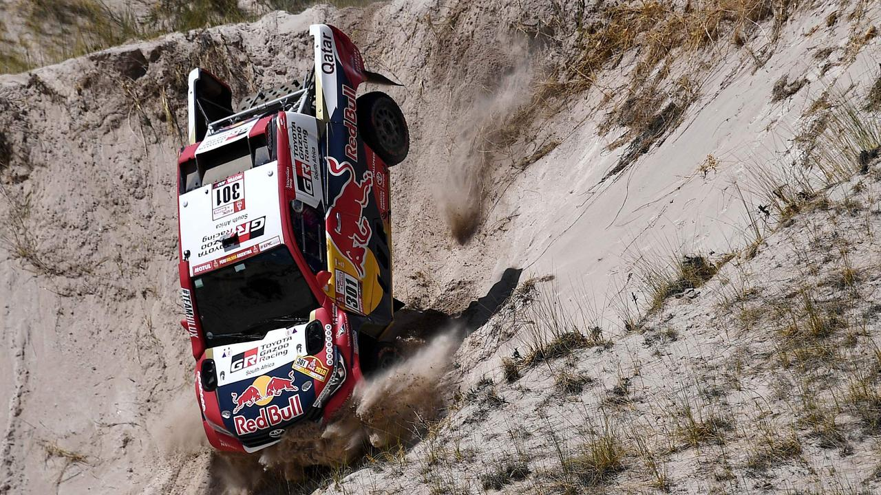 The Dakar Rally is one of the most dangerous races in the world.