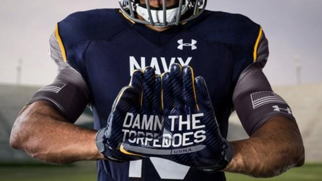 check out e1d97 527d2 US Navy's college football team dressed for battle in ...
