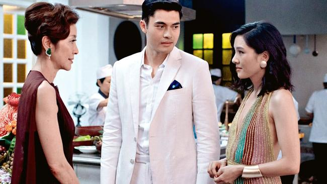 Crazy Rich Asians collected box office earnings of $US238 million from a $US30 million budget