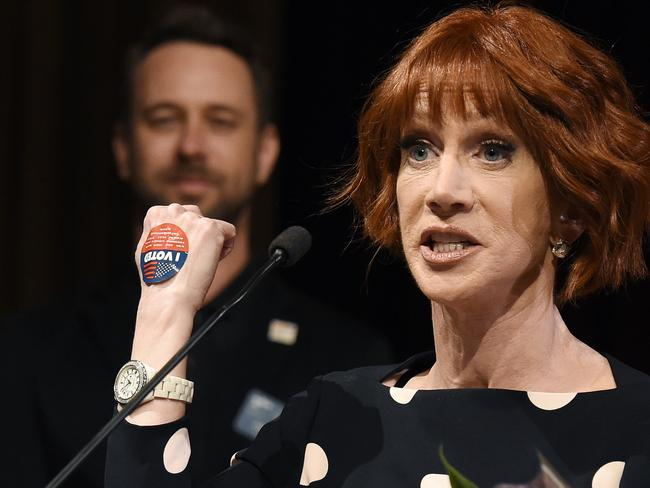 Comedian Kathy Griffin is not afraid of controversy. Picture: AP