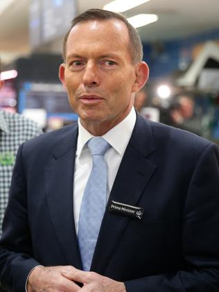 Tony Abbott has banned government ministers from the panel. Pic: Cameron Richardson