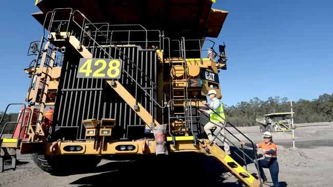 One Nation campaigned on a platform to protect mining jobs in the region. Picture: Jeremy Piper