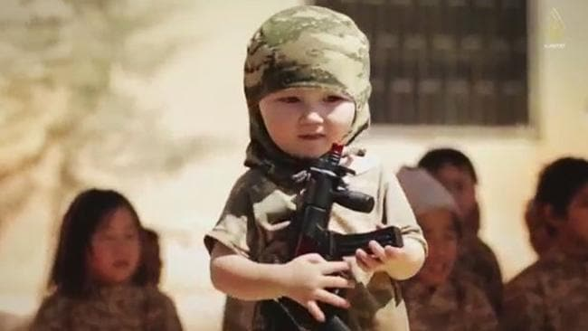New ISIS video features kids in military training camp