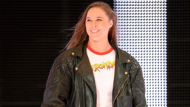 Ronda Rousey is set to officially sign with the WWE soon.
