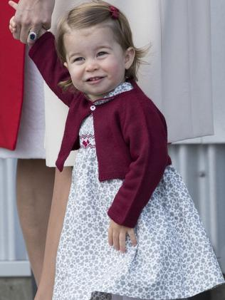 Princess Charlotte will be a junior flower girl at Pippa Middleton's wedding. Picture: Getty