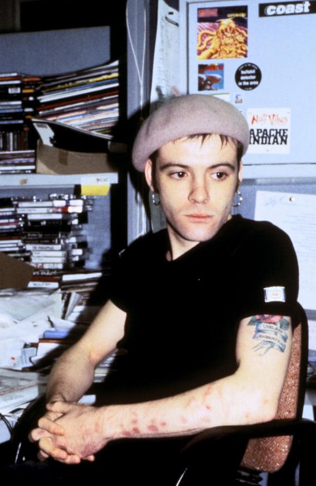 Richey Edwards of the Manic Street Preachers, 1992.