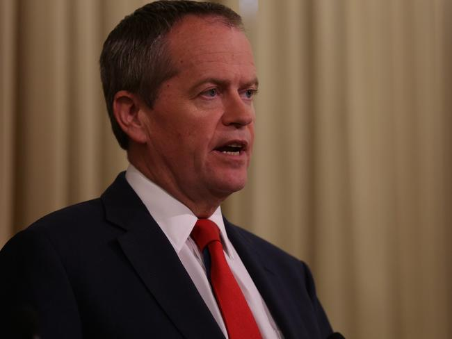 Disgusted ... Opposition leader Bill Shorten described the executions as senseless. Picture: Brendan Francis