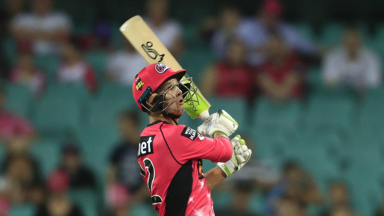 Josh Philippe has been dangerous at the top of the order for the Sydney Sixers. Photo: Mark Evans/Getty Images.