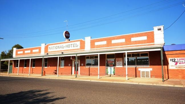 Stawell's striking National Hotel is also seeking a new owner.