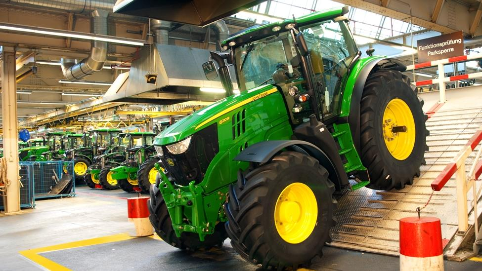 john deere machinery factory at mannheim germany has to be seen to