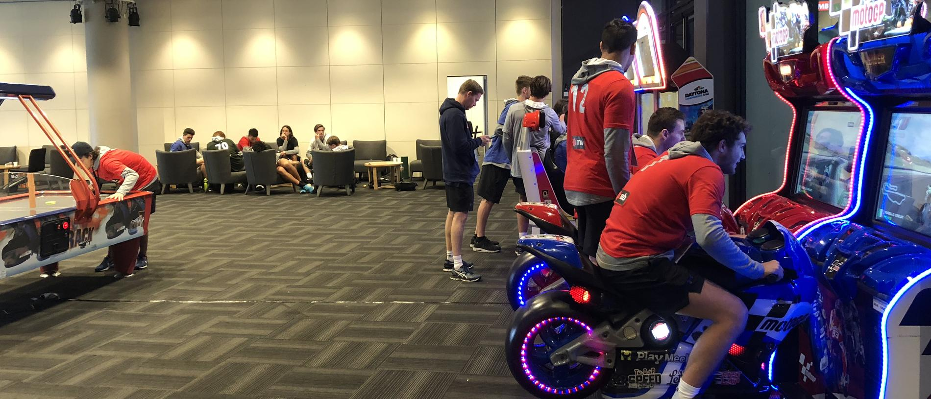 What actually happens behind the scenes at the AFL Draft Combine.