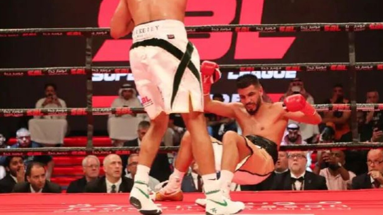 Billy Dib didn't stand a chance.