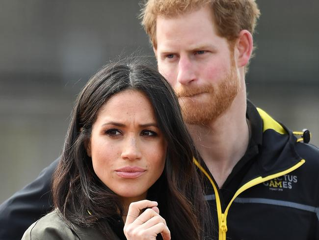 Samantha Markle has called Harry, right, a 'wuss' and says he should've married Cressida Bonas. Picture: MEGA TheMegaAgency.com