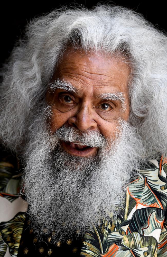 Actor and Aboriginal elder Uncle Jack Charles. Picture: AAP/Bianca De Marchi.