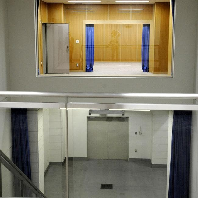 Japan, one of the few industrialised democracies to maintain the death penalty, threw open the doors to its mystery-shrouded execution chamber for the first time to media in 2010. Picture: AFP/JIJI PRESS