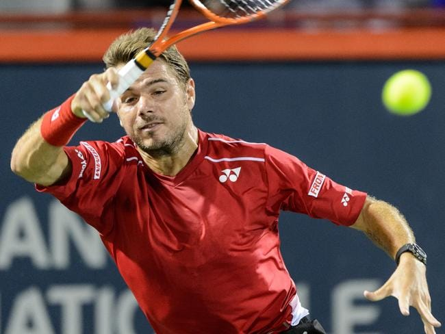 Wawrinka has taken a big swing back at Nick Kyrgios.