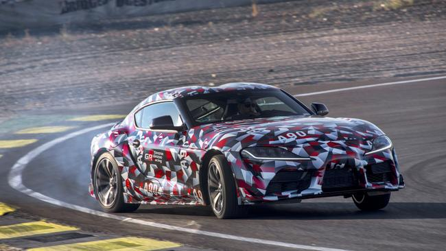 Co-operation: Toyota developed the Supra in partnership with BMW.