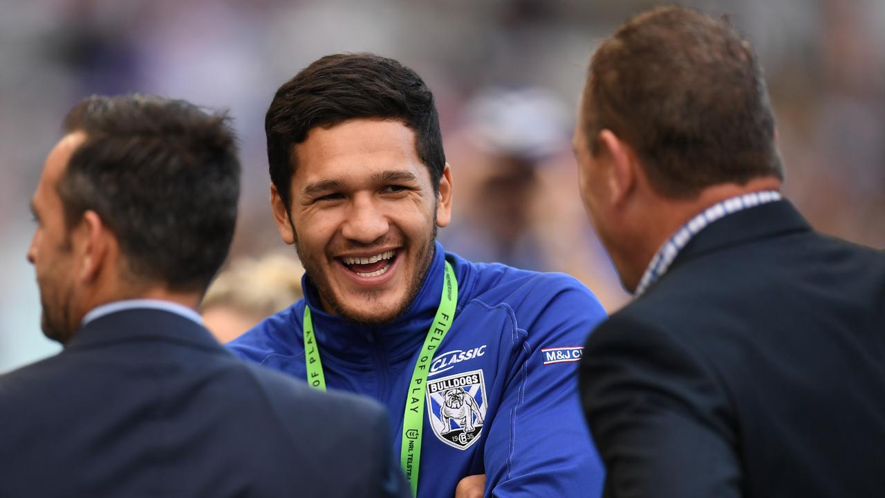 Newly-minted Bulldog Dallin Watene-Zelezniak is hoping to reignite his career after a move away from the foot of the mountains. (AAP Image/Dean Lewins)