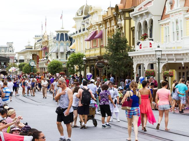 Disney World has found a way to control what we notice and what we don't.