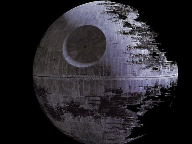 Commentators have likened the project to Star Wars' fictional Death Star. Picture: Supplied