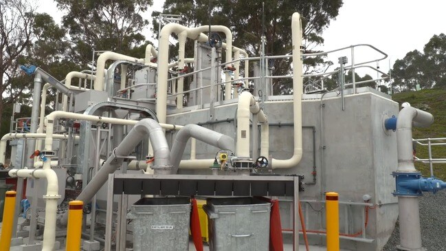 TasWater unveils new Blackmans Bay sewage treatment plant