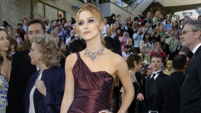 Knightley says she has tight control over sex scenes and what goes in films. Image: Getty