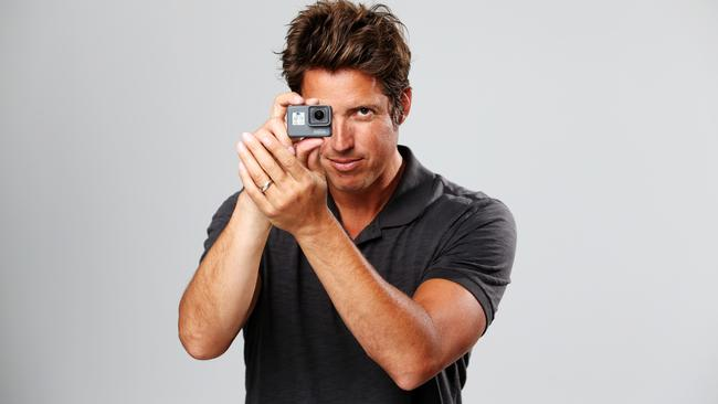 GoPro creator Nick Woodman is on the comeback trail. Picture: Carly Earl