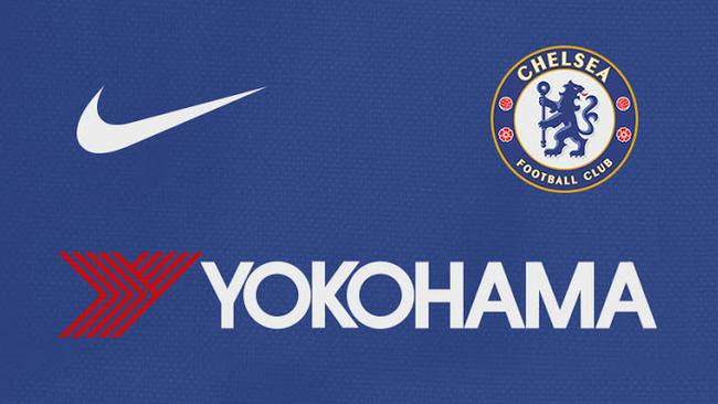 Chelsea's colours of their new home kit.