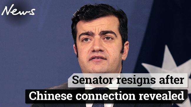 Sam Dastyari resigns after close ties with China emerge