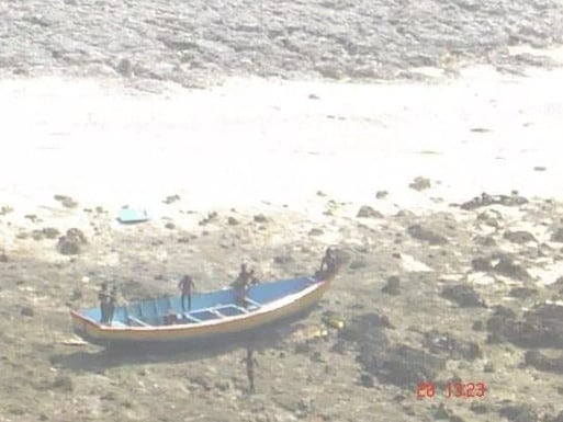 North Sentinel Islanders are some of the last people cut off from world. Picture: Indian Coast Guard