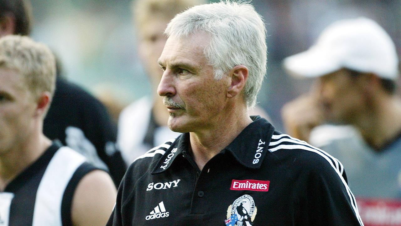 Former Collingwood coach Mick Malthouse.