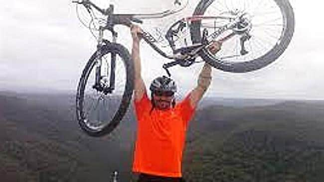 February 16: Marc Simone died before he could complete a fundraising bike run for homeless children. Picture: Supplied