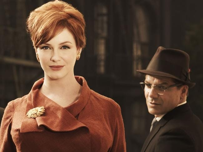 Perennial nominee ... Christina Hendricks as Joan from TV program Mad Men.
