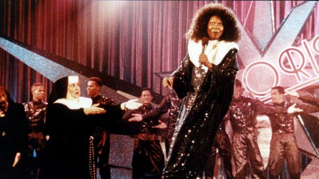 Whoopi Goldberg in a scene from Sister Act