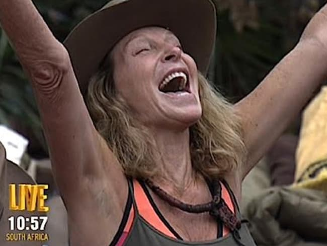 Bonnie Lythgoe was 'so happy' to have been voted out of the jungle. Picture: Ten