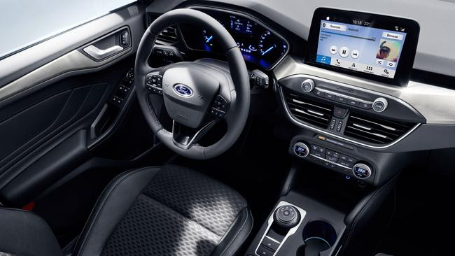 Ford has joined the growing number of brands with 'tablet-style' touchscreens in the dashboard. Picture: Supplied