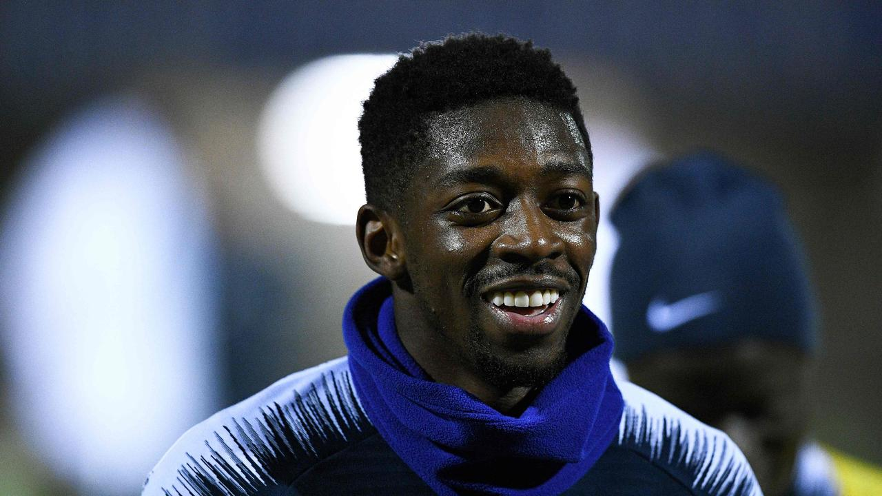 Ousmane Dembele is Liverpool's top back-up option.