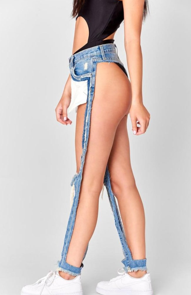 b167c6d3c57 Carmar: 'Extreme Cut Out' jeans are ridiculous ... and expensive ...