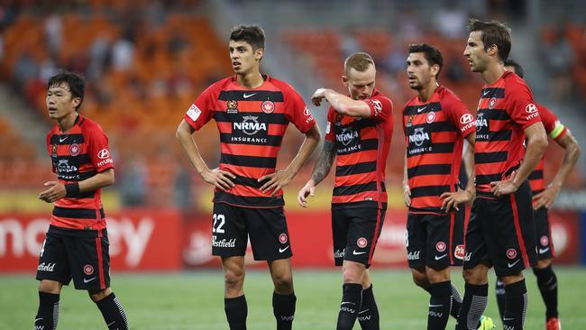 Western Sydney Wanderers players.