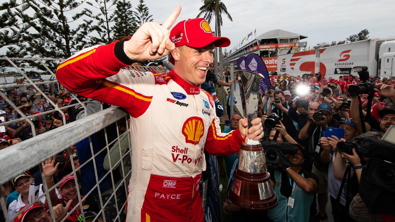 McLaughlin is the series champion, and the highest-profile driver. Picture: Daniel Kalisz