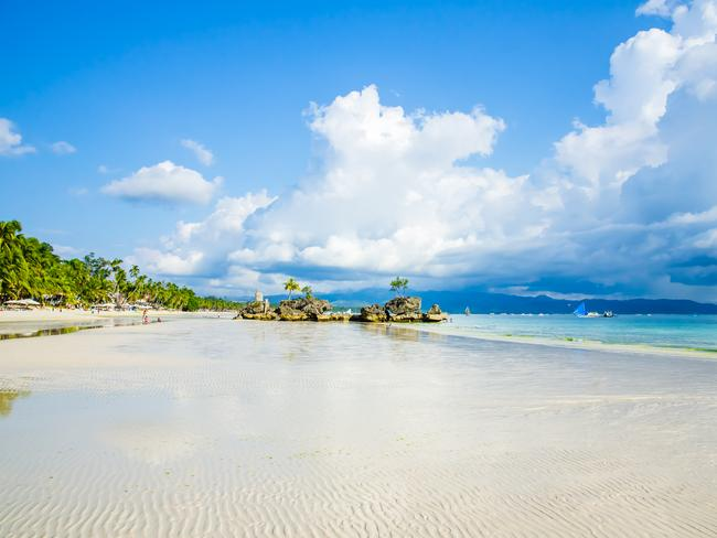 The Philippines island of Boracay has reopened after a six-month closure in 2018.