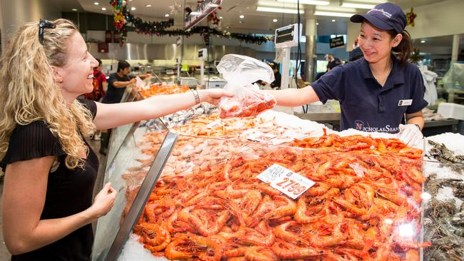 Some varieties of prawns will exceed $50 ahead of Christmas, but tiger and banana prawns will be in abundance.