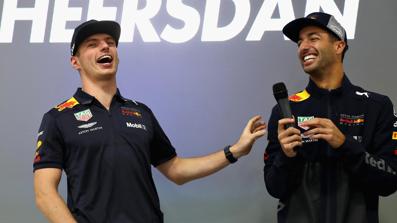 Daniel Ricciardo left Red Bull for Renault. (Photo by Mark Thompson/Getty Images)
