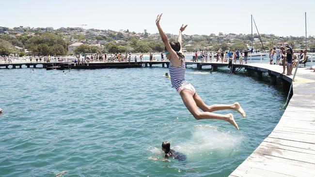 Sydney will stay hot over the coming week. Picture: Hanna Lassen/Getty Images