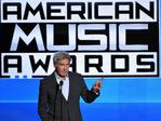Harrison Ford speaks onstage during the 2015 American Music Awards. Picture: Getty