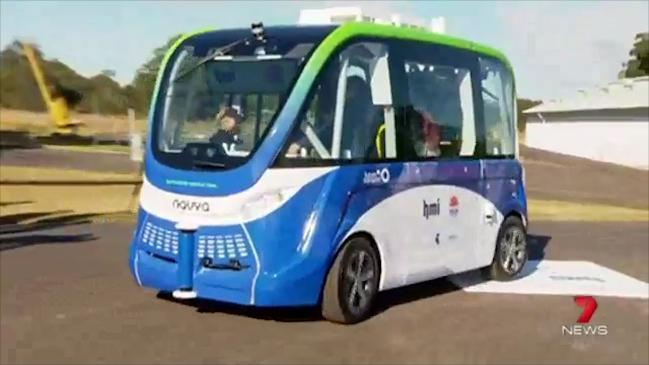 NSW's first trial of a driverless shuttle bus will begin soon