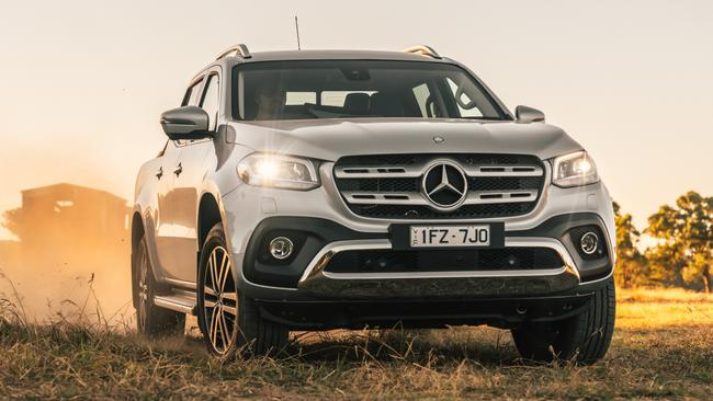 mercedes x class ute road test and price. Black Bedroom Furniture Sets. Home Design Ideas